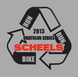 The Dam Duathlon presented by Scheels logo