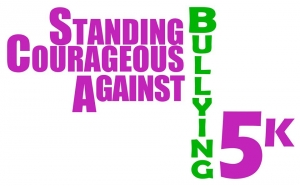 Standing Courageous Against Bullying 5K logo
