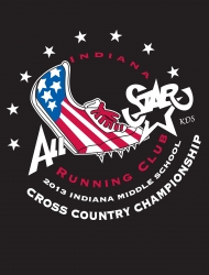 Indiana Middle School XC Championships 2013 logo