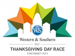 104th Thanksgiving Day Race - 2013 logo
