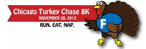 Chicago 8K Turkey Chase logo