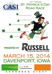 CASI St. Patricks Day Race logo