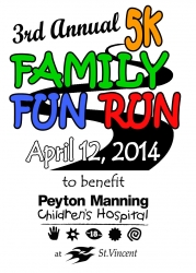 Family Fun Run - 3rd Annual logo