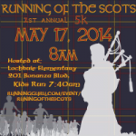 Running of the Scots 5K logo