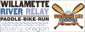 Willamette River Relay logo