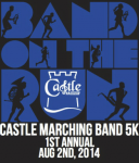 Castle Band On the Run 5K Run/Walk logo