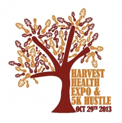 2nd Annual Harvest Health Expo and 5k Hustle logo