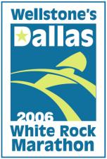 2006 Wellstone Dallas White Rock Marathon logo