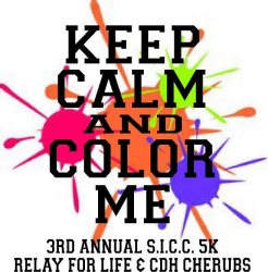 Southern Indiana  Car Club 5K COLOR BLAST  logo
