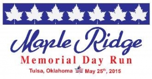 Maple Ridge Memorial Day Run logo