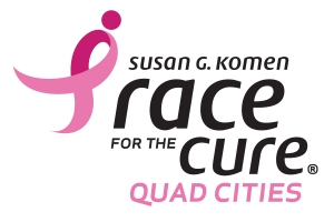 Quad Cities Race for the Cure - 2015 logo
