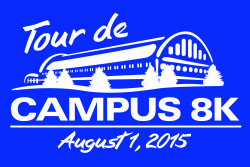 Tour de Campus 8K logo