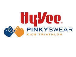 Hy-Vee Pinky Swear Kids Triathlon - Quad Cities logo