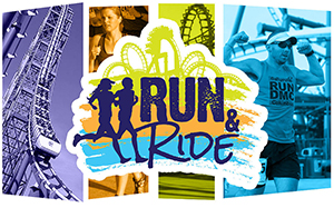 Carowinds Run and Ride logo