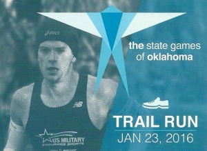 2016 State Games of Oklahoma Trail Run logo