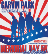 Memorial Day Run 5K run/walk logo