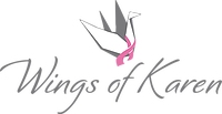 Wings of Karen 5k Bra Dash logo