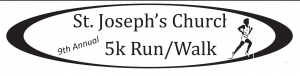 St. Josephs Church 5K run/walk logo
