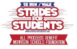 Strides For Students 5K logo