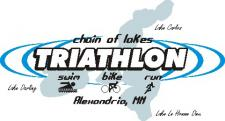 Chain of Lakes Triathlon logo