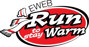 EWEB Run To Stay Warm logo