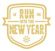 RUN INTO THE NEW YEAR 2016 logo
