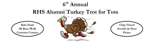 RHS Alumni Turkey Trot for Tots 5K logo