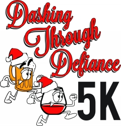 Dashing Through Defiance logo