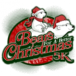 Bears for a Better Christmas 5K logo