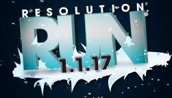 The Resolution Run logo