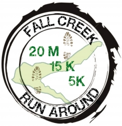 Fall Creek Run Around logo