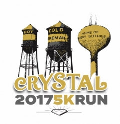 Crystal 5k Run logo