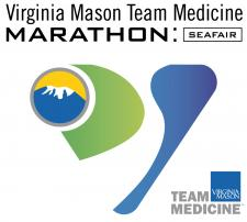 Virginia Mason Team Medicine Marathon at Seafair logo