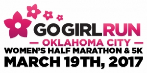 2017 Go Girl Run - Oklahoma City logo