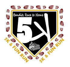 Bandits Race to Home 5K - 2017 logo