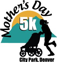 Denver Mothers Day 5K logo