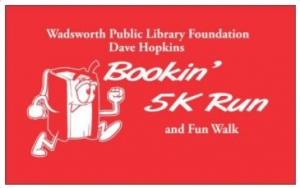 The Dave Hopkins Bookin 5k logo