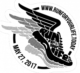 Run for Your Life 5K logo