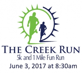 Creek Run 5K logo
