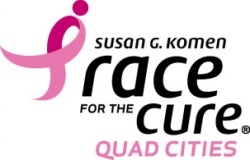 Quad Cities Race for the Cure - 2017 logo