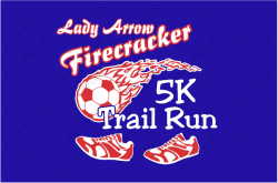 Lady Arrow Firecracker 5K Trail Run logo