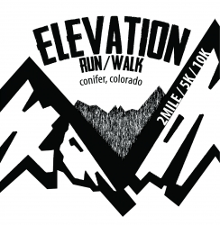 Conifer Elevation Run logo