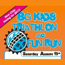 BOWLING GREEN KIDS TRIATHLON, AND BIG FUN RUN logo