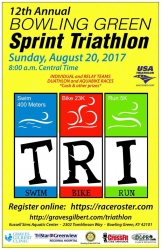 BOWLING GREEN SPRINT TRIATHLON, DUATHLON, AND AB logo