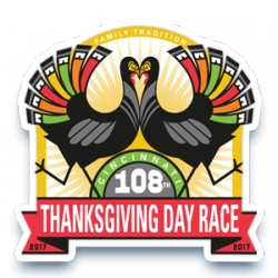 108th Thanksgiving Day Race - 2017 logo