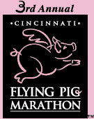 Flying Pig Marathon 2001 logo