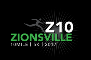 Zionsville 10 Mile and 5K 2017 logo
