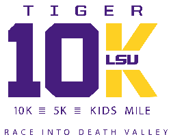 Tiger 10K - LSU logo