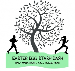 Easter Egg Stash Dash logo