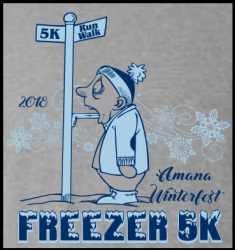 Amana Freezer Run logo